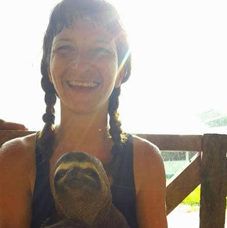 Rainforest Healing Center Ayahuasca Retreat Guests on Bridge